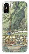 Cutaway Of Dustys Boat IPhone Case