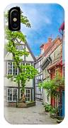 Cute And Colorful European Houses IPhone Case