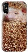 Cute Little Hedge Ball IPhone Case
