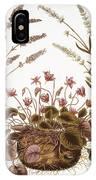Cyclamen & Lavender, 1613 IPhone Case