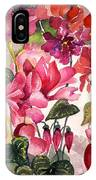 Cyclamen IPhone Case