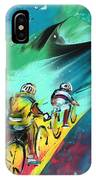 Cycling In Majorca 01 IPhone Case