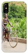 Cycling In Malawi IPhone Case