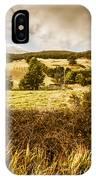 Cygnet Rustic Farming Fields IPhone Case