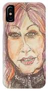 Cyndi Lauper IPhone Case