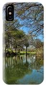 Cypress Bend Park Reflections IPhone Case