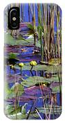Cypress Pond Tranquility IPhone Case