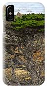 Cypress Tree In Point Lobos State Reserve Near Monterey-california  IPhone Case