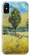 Cypresses At Lydenburg IPhone Case