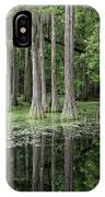 Cypresses In Tallahassee IPhone Case