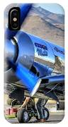 Czech Mate Engine Start Sunday Afternoon Gold Unlimited Reno Air Races IPhone Case