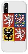 Czech Republic Coat Of Arms IPhone Case
