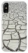 D17845-dried Mud Patterns  IPhone Case