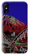 Da Mountain And Stadia 3 IPhone Case