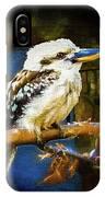 Kookaburra Dacelo Novaeguineae IPhone Case