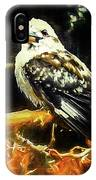 Kookaburra Kingfisher Dacelo-novaeguineae IPhone Case