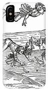 Daedalus And Icarus IPhone Case
