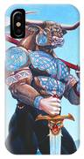 Daedalus Minotaur Of Crete IPhone Case