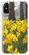 Daffodils In St James Park London IPhone Case