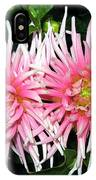 Dahlia Duo IPhone Case