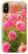 Dahlia Farm IPhone Case