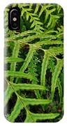 Dainty Fronds IPhone Case