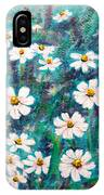 Daisies Golden Eyed IPhone Case