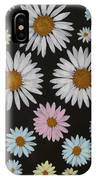 Daisies On Black IPhone Case