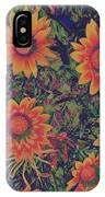 Pop Art Daisies Orange IPhone Case