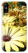Daisies Yellow Daisy Flowers Garden Art Prints Baslee Troutman IPhone Case