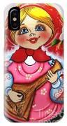 Daisy Balalaika Chime Doll IPhone Case