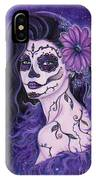 Daisy Day Of The Dead IPhone Case