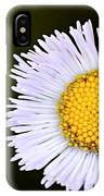Daisy Fleabane 3 IPhone Case