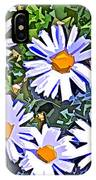 Daisy Flower Garden Abstract IPhone Case