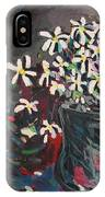 Daisy In Vase IPhone Case