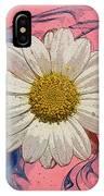 Daisy Swirls 1 IPhone Case