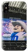 Dallas Cowboys Rowdy IPhone Case