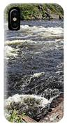 Dalles Rapids French River I IPhone Case