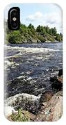 Dalles Rapids French River Iv IPhone Case