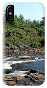 Dalles Rapids French River Ontario IPhone Case