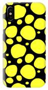 Dalmatian Pattern With A Black Background 05-p0173 IPhone Case