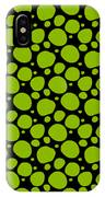 Dalmatian Pattern With A Black Background 09-p0173 IPhone Case