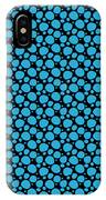 Dalmatian Pattern With A Black Background 18-p0173 IPhone Case
