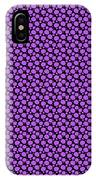 Dalmatian Pattern With A Black Background 30-p0173 IPhone Case