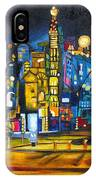 Dam Square IPhone Case