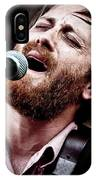 Dan Auerbach And The Fast Five Performs At The Mean Eyed Cat Dur IPhone Case