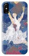 Dance Abstract In The Mix IPhone Case