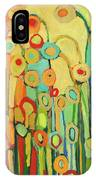 Dance Of The Flower Pods IPhone Case