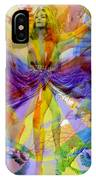 Dance Of The Rainbow  IPhone Case