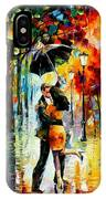 Dance Under The Rain IPhone Case